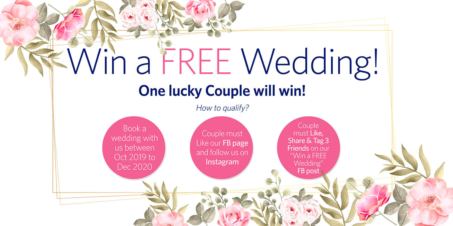 Win a free wedding | Copthorne Kings hotel singapore